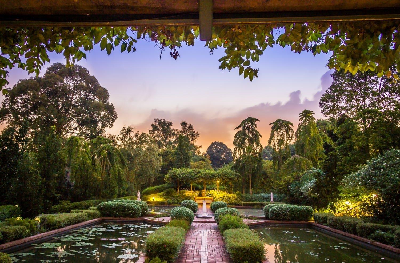 حدائق سنغافورة النباتية ( Singapore botanical gardens )
