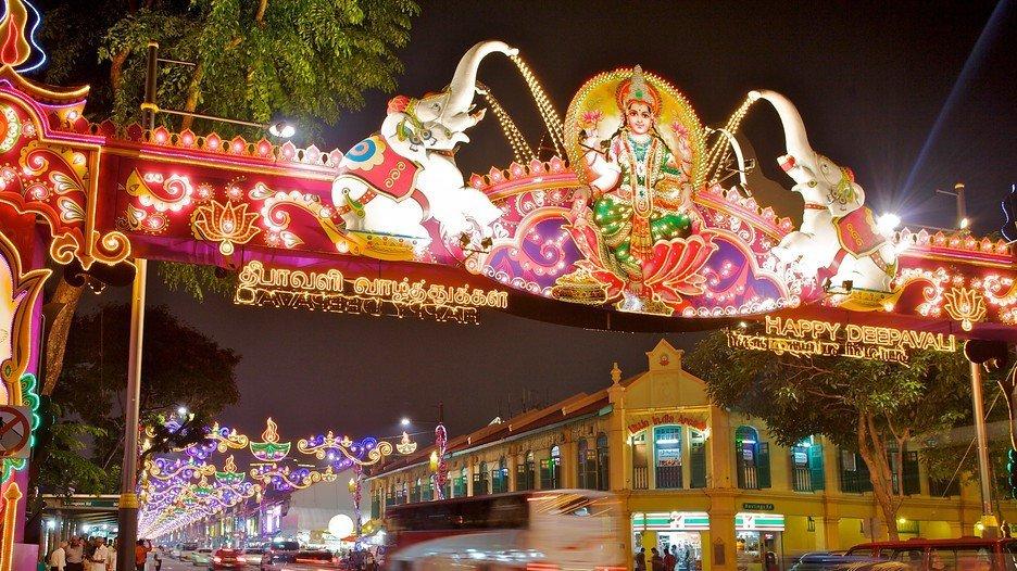الهند المصغرة فى سنغافورة ( Little India )